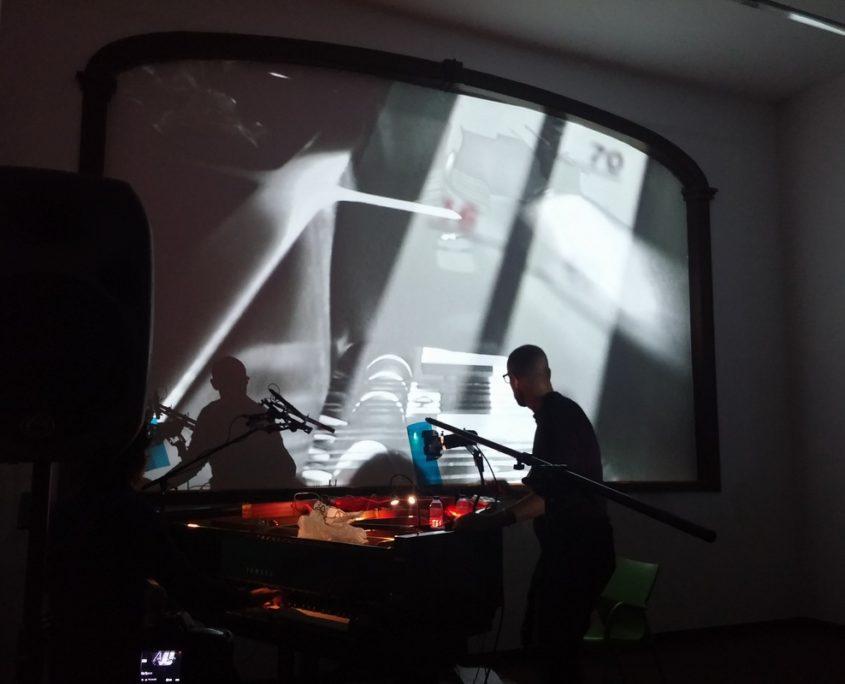 Sonic Parkour. Nacho Muñoz & Roi Fernández. In concert 3